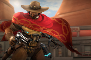 Mccree Overwatch 5k Wallpaper