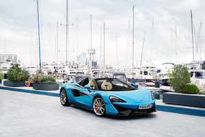 McLaren 570S Spider 2018 4k Wallpaper
