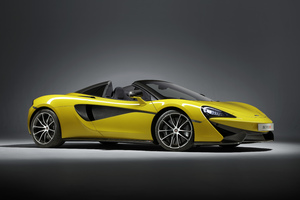 McLaren 570S Spider 2018 Wallpaper