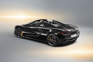 McLaren 570S Spider Design Edition 2018 Rear Wallpaper