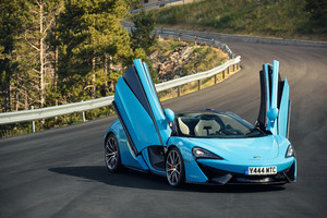 McLaren 570S Spider Super Car 2018