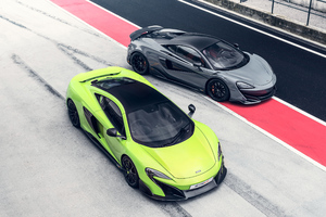 McLaren 675LT And 600LT Wallpaper