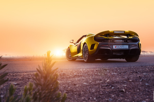 McLaren 675LT Spyder Wallpaper
