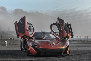 McLaren Doors Up Wallpaper