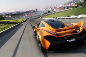 McLaren Forza Motosport Rear Wallpaper