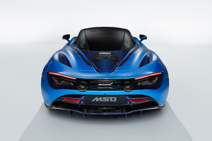 McLaren MSO 720S Pacific Theme 2018 Rear Wallpaper