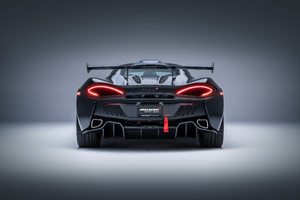 Mclaren Msox Black Rear Lights