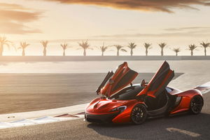 Mclaren P1 Supercar HD
