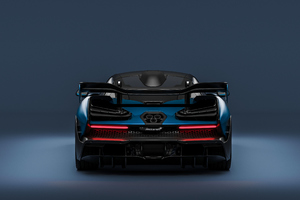 Mclaren Senna CGI Rear 4K Wallpaper