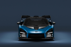 Mclaren Senna Full CGI Wallpaper
