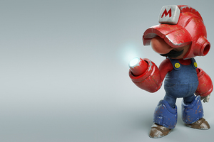 Mega Mario Wallpaper