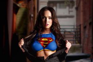 Megan Fox As Supergirl