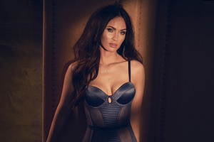 Megan Fox Fredericks Lingerie Photoshoot