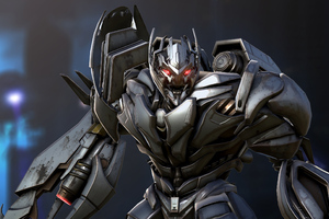Megatron Transformers Forged To Fight Wallpaper