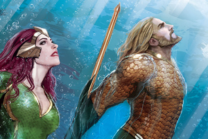 Mera Aquaman Art