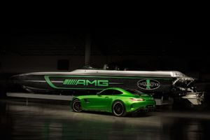 Mercedes Amg Cigarette Racing Car And Boat 2017