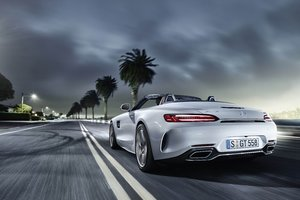 Mercedes AMG GT C Roadster Wallpaper