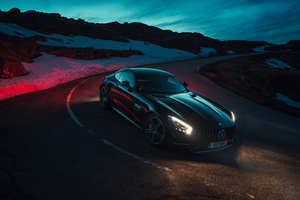 Mercedes AMG GT C Wallpaper