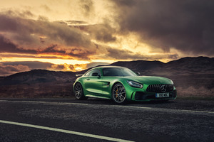 Mercedes AMG GT R C190 2017 Wallpaper
