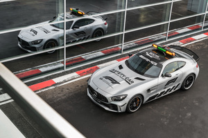 Mercedes AMG GT R F1 Safety Car 2018 4K