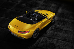 Mercedes AMG GT S Roadster 2018 Rear Wallpaper