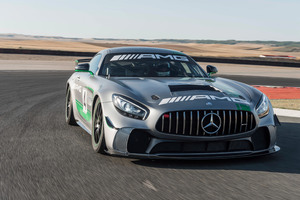Mercedes AMG GT4 C190 2017 Wallpaper