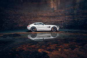 Mercedes AMG GTR Coupe 5k Wallpaper
