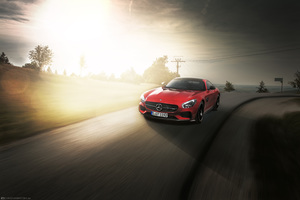 Mercedes AMG GTS 5k Wallpaper