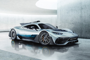 Mercedes Amg Project One 2018 Wallpaper