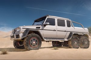 Mercedes Benz AMG G63 6x6 Wallpaper