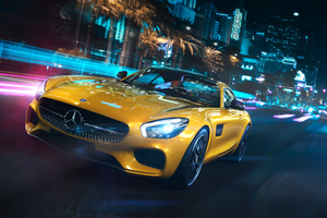 Mercedes Benz Amg GT Front Wallpaper