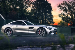 Mercedes Benz Amg Silver Wallpaper