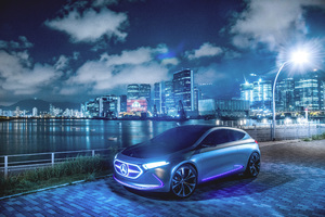 Mercedes Benz Concept EQA Wallpaper