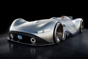 Mercedes Benz EQ Silver Arrow Concept Wallpaper