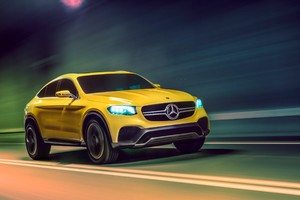 Mercedes Benz GLC Coupe Concept