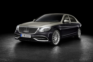 Mercedes Benz Maybach S 560 2018 Front Wallpaper