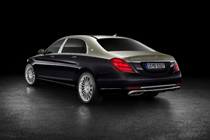 Mercedes Benz Maybach S 560 2018 Rear Wallpaper