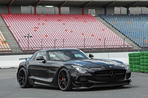Mercedes Benz SLS 63 AMG Black Series 2017 Wallpaper