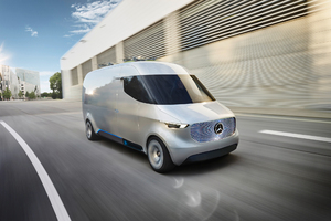 Mercedes Benz Vision Van Concept Wallpaper