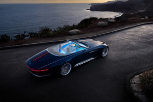Mercedes Maybach 6 Cabriolet Wallpaper