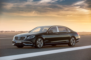 Mercedes Maybach S 650 2017 Wallpaper