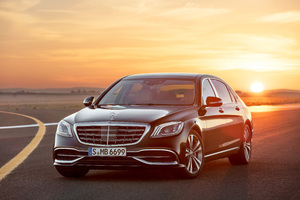 Mercedes Maybach S 650 4k Wallpaper