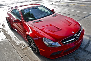 Mercedes MB SL65 Red
