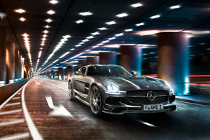 Mercedes SLS CGI Wallpaper