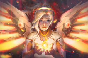 Mercy Angel Overwatch Fantasy