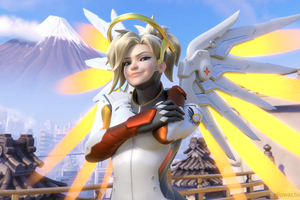 Mercy Overwatch Arts
