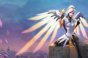 Mercy Overwatch Artwork 3