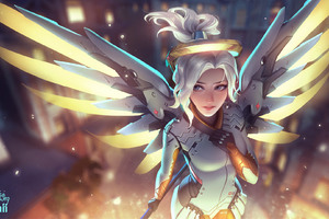 Mercy Overwatch Artwork