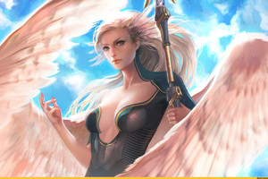 Mercy Overwatch Beautiful Artwork