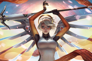 Mercy Overwatch Game